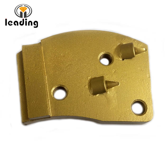 1/4 Quarter Round PCD scrapers / PCD wing / PCD grinding shoes / PCD Cutter for epoxy or paint coatings removing