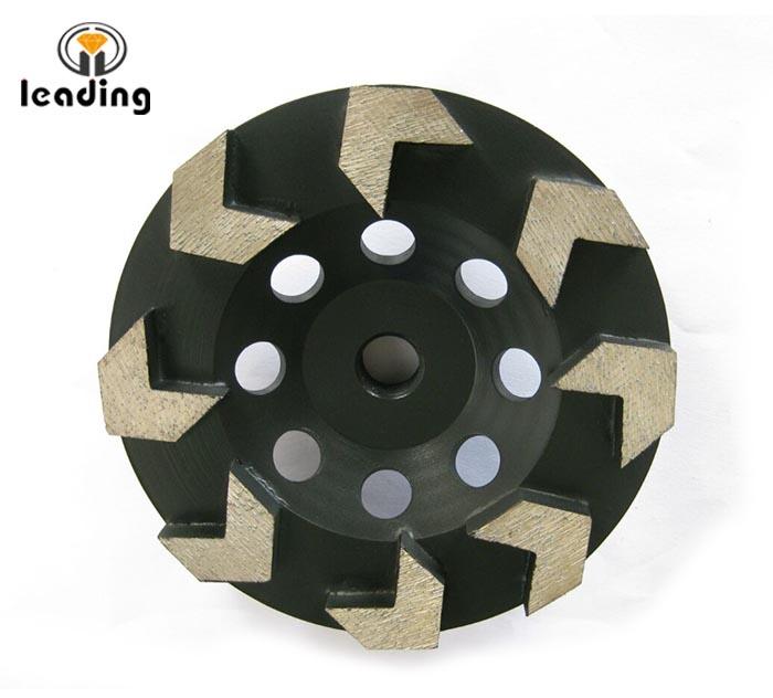 Diamond Cup Wheel For Edge Grinding Arrow