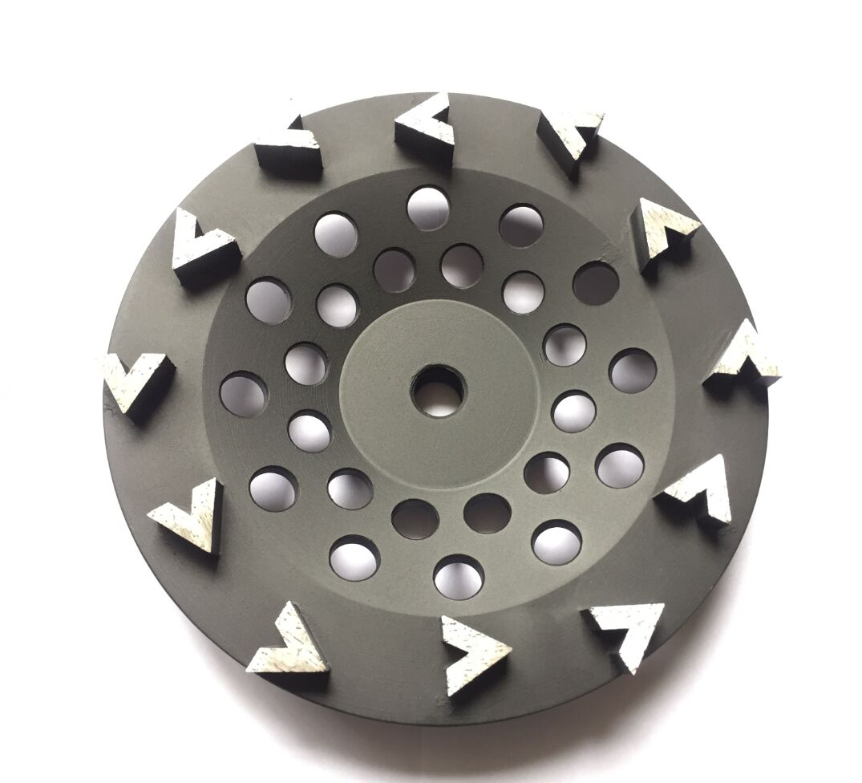 Diamond Cup Wheel For Edge Grinding V Segment