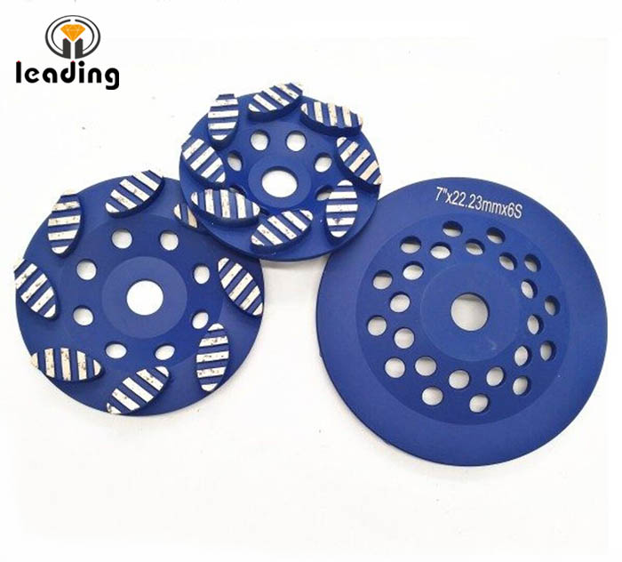 Diamond Cup Wheel For Edge Grinding Oval Turbo Segment