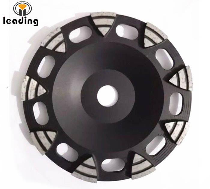 Diamond Cup Wheel For Edge Grinding Triangle Segment