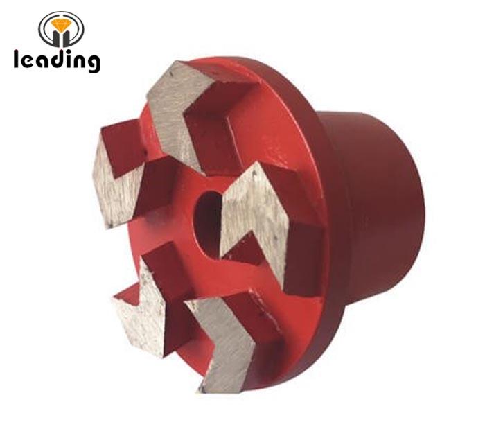 Diamond Grinding Plug Arrow Segment