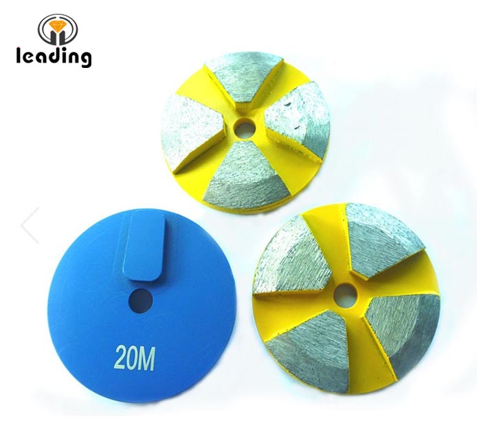 Terrco Rough Grinding - BEVELED EDGE DISCS