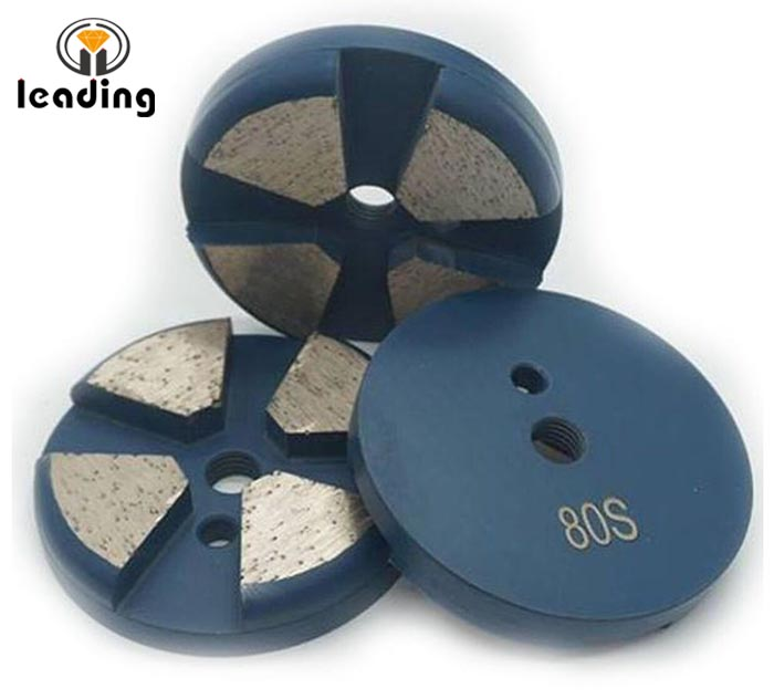 Terrco Rough Grinding Beveled Edge Disc with the speed shift system or bolt on applications