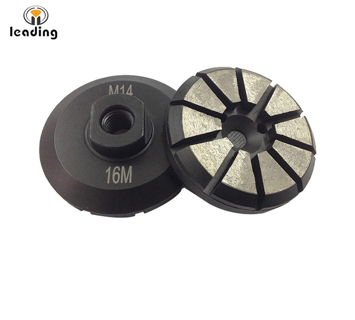 Diamond Grinding Puck with thread connector