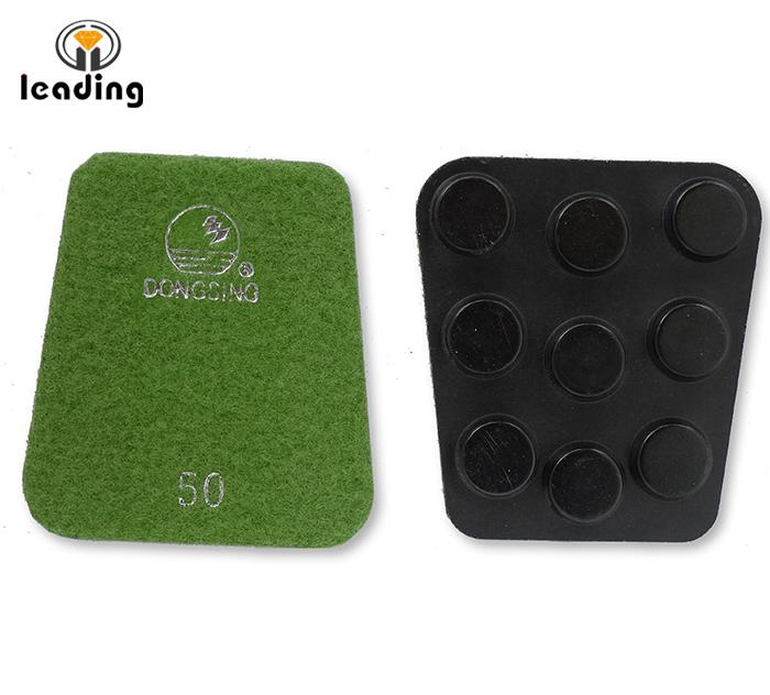 FP5 DONGSING Fan or Frankfurt Shape Floor Polishing Pads