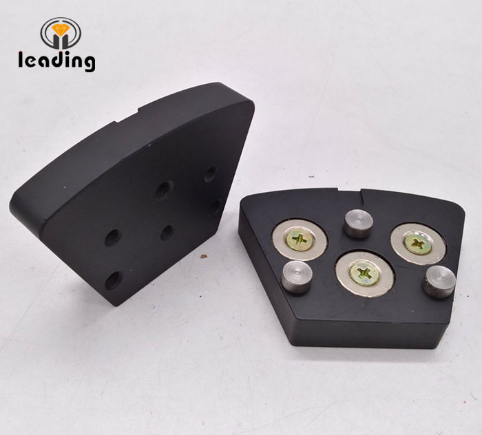 Quick Change Magnetic Adapters for Trapezoid Plate