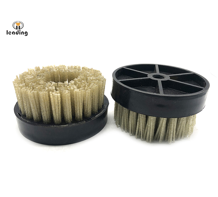 4 inch (100mm) Diamond Brush with M14 or 5/8