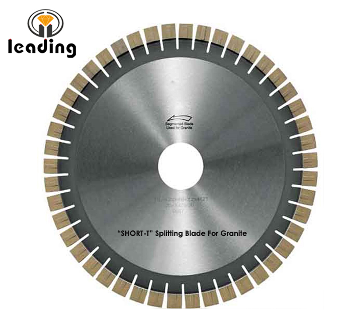 Bridge Saw Blade - SHORT-T Splitting Blade And Segment For Granite