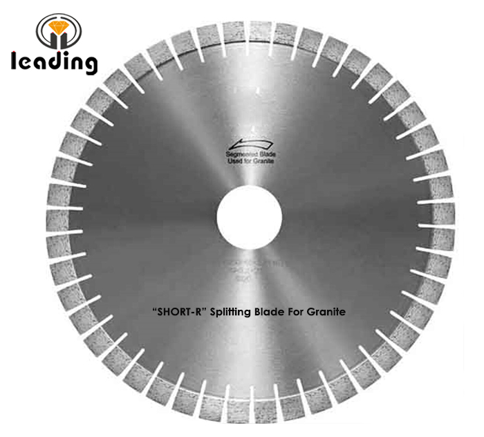Bridge Saw Blade - SHORT-R Splitting Blade And Segment For Granite