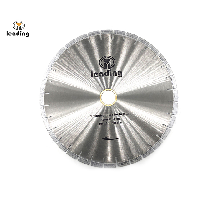 Bridge Saw Blade - T Splitting Blade And Segment (RT) For Granite
