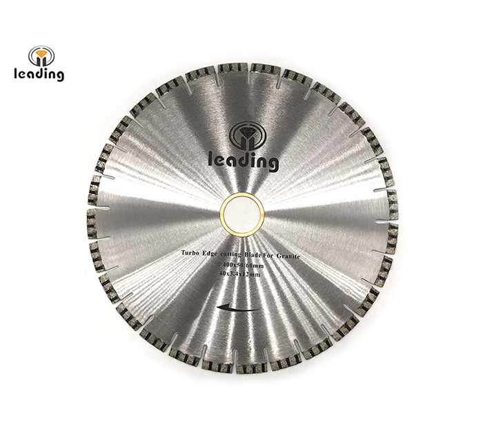 Bridge Saw Blade - TURBO Edge Cutting Blade And Segment (RG) For Granite