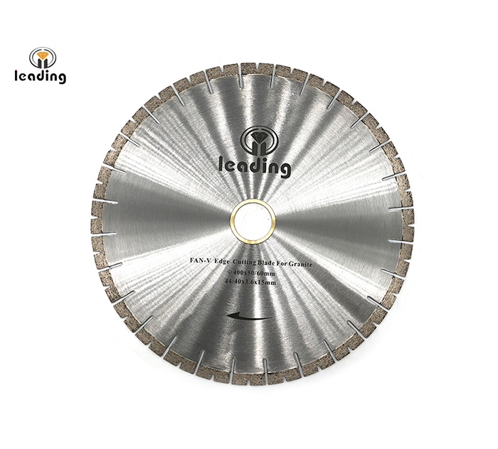 Bridge Saw Blade - FAN-V Edge Cutting Blade And Segment For Granite