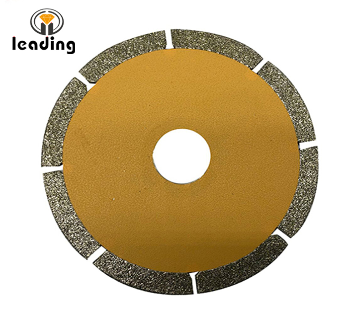 Electroplated Diamond Saw Blade Slotted
