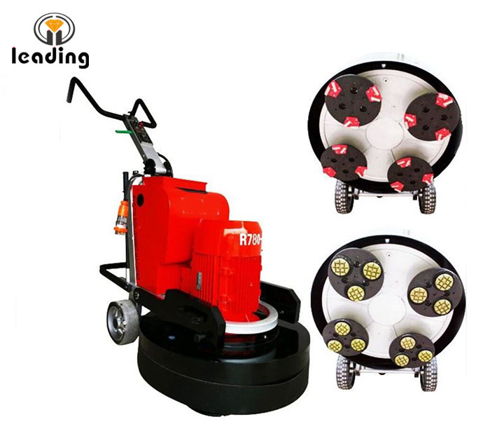 LDR780-4 Concrete Grinding And Polishing Machine, Planetary Concrete Grinder and Polisher