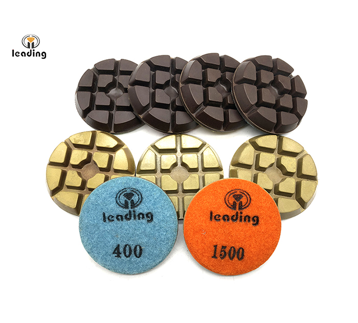 Superior Concrete Floor Dry Resin Polishing Pad Typhoon