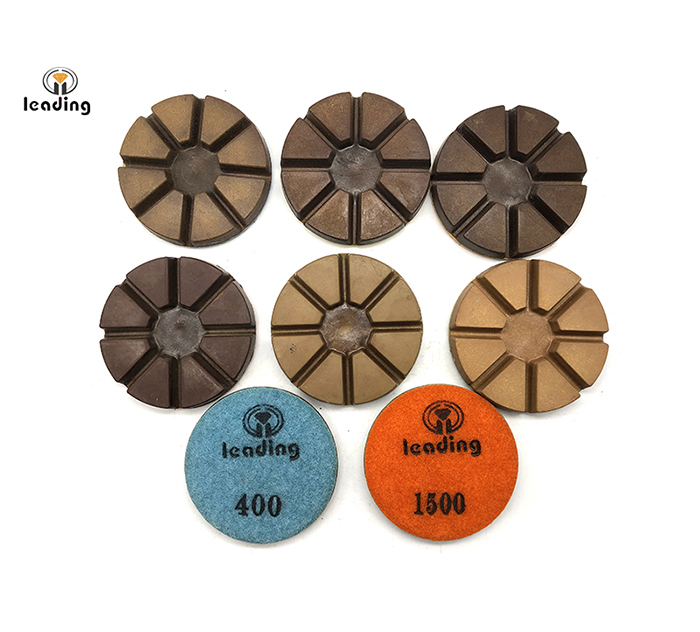 8 Pies Concrete Floor Dry Resin Polishing Pads