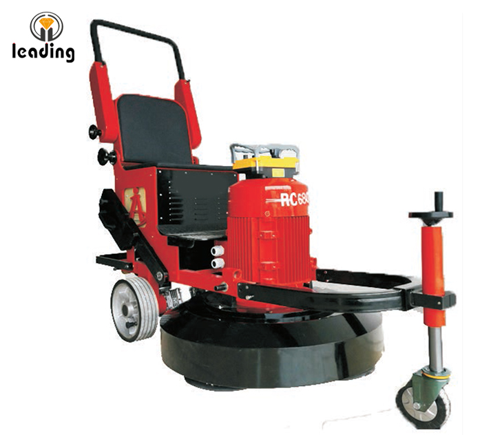 LDRC-680 Remote Control Ride On Concrete Floor Grinding Polishing Machine, Polisher