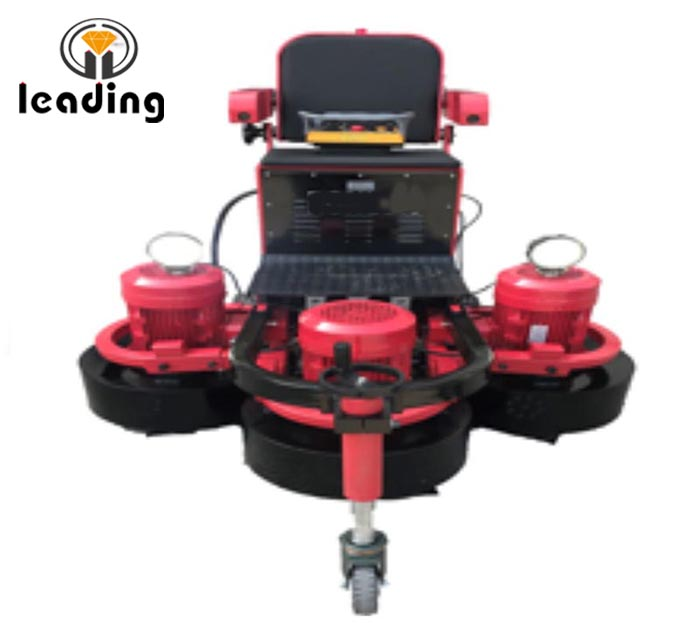 LDRC-1300 Remote Control Ride On Concrete Floor Grinding Polishing Machine, Polisher