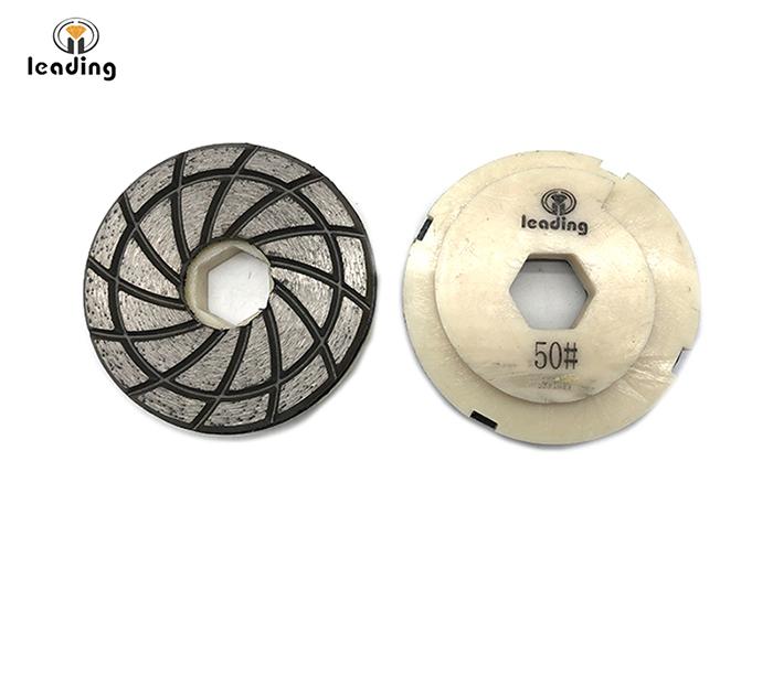 Diamond Cup Wheel with Plastic Snail Lock