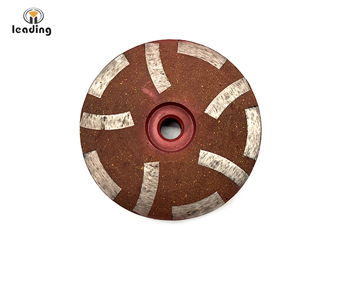 Resin Filled Diamond Cup Wheel for Granite, Marble, Engineered Stone