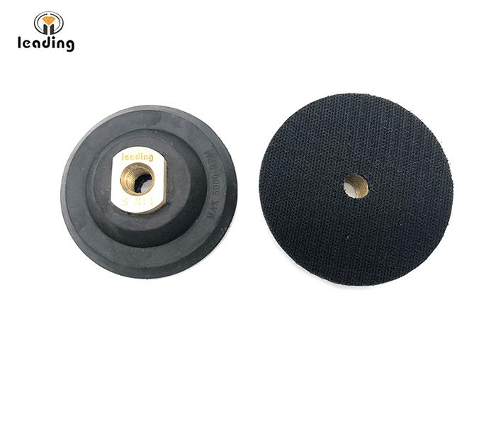 Premium Rubber Velcro Backing Pad
