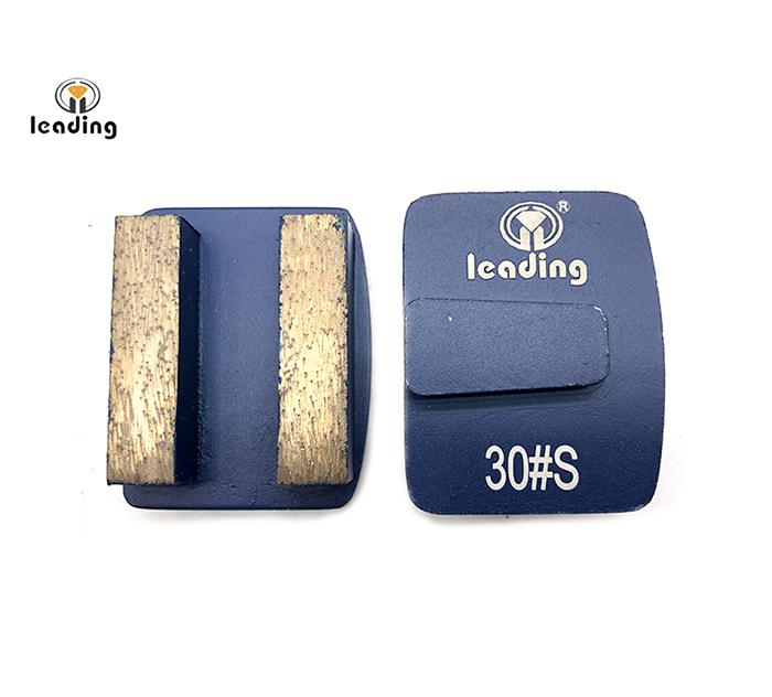 Husqvarna Redi Lock Grinding Tools for surface preparation - Double Rectangle Segment