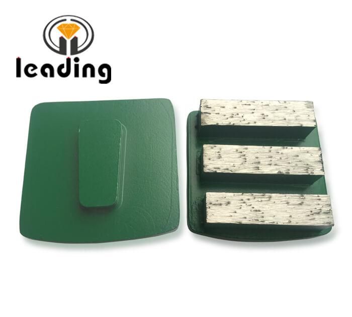 Husqvarna Redi Lock Grinding Tools for surface preparation - Three Rectangle Segment