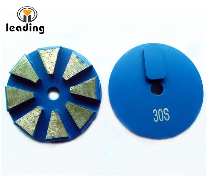Terrco Rough Grinding Diamonds 8 Beveled Edge Discs Redi Lock
