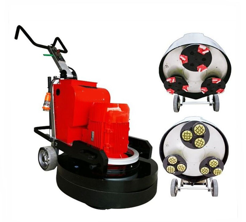 LDR780-3 Planetary Concrete Floor Grinder with 3 Grinding Heads